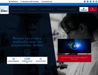 cours-galien.fr screenshot