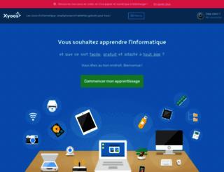 cours-informatique-gratuit.fr screenshot