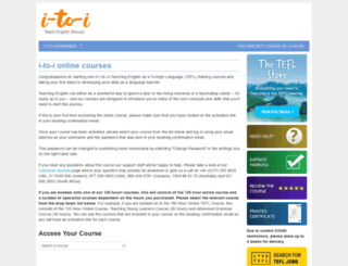 course.lovetefl.com screenshot
