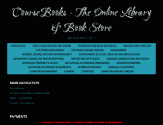coursebooks.co.in screenshot