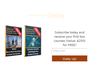 coursecowboy.com screenshot