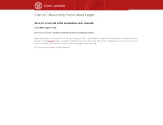 courseeval.cornell.edu screenshot