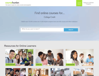 coursehunter.org screenshot