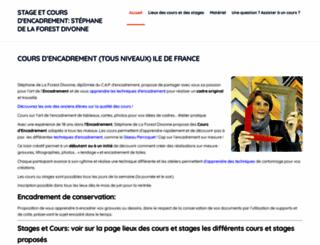 coursencadrement.com screenshot