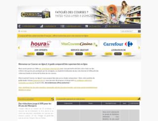 courses-en-ligne.fr screenshot
