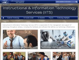courses.csusm.edu screenshot