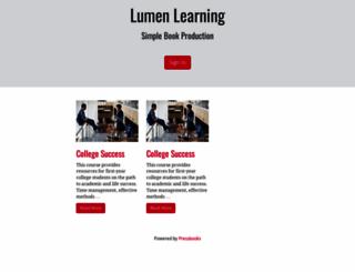 courses.lumenlearning.com screenshot