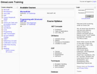 courses.ongcc.com screenshot