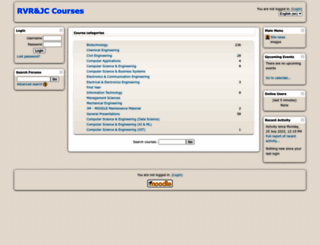courses.rvrjcce.ac.in screenshot