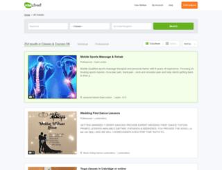 courses.vivastreet.co.uk screenshot