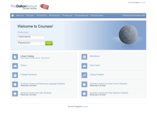 courses2015.dalton.org screenshot