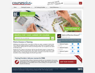 coursesplus.co.uk screenshot