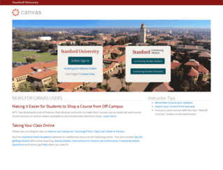 coursework.stanford.edu screenshot