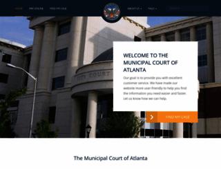 court.atlantaga.gov screenshot