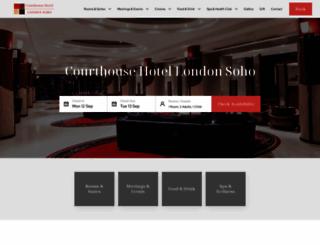 courthouse-hotel.com screenshot