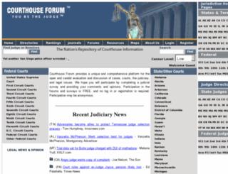 courthouseforum.com screenshot