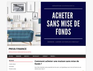 courtier-hypothecaire.com screenshot