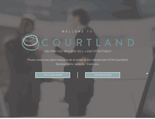 courtlanddevelopments.co.uk screenshot