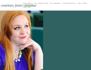 courtneyfosterdonahue.com screenshot