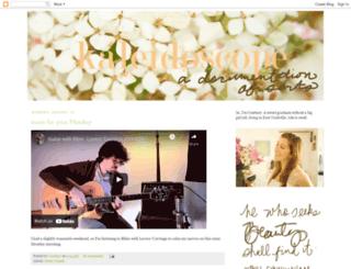 courtneyskaleidoscope.blogspot.com screenshot