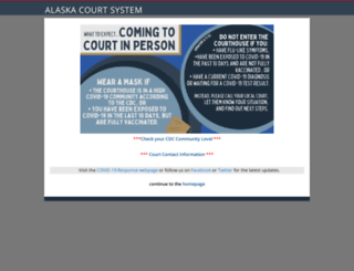 courts.alaska.gov screenshot