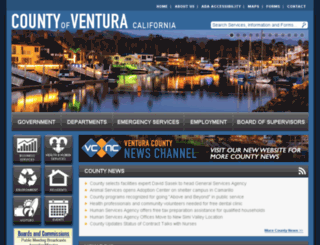 courts.countyofventura.org screenshot