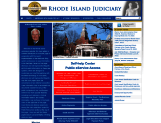 courts.ri.gov screenshot