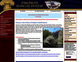 courts.state.va.us screenshot