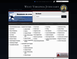 courtswv.gov screenshot