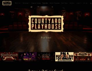 courtyardplayhouse.com screenshot