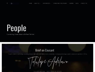 cousant.com screenshot