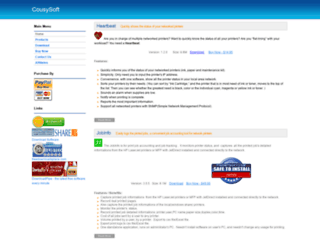 cousysoft.com screenshot