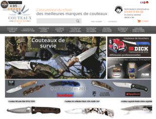 couteaux-services.com screenshot