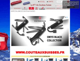 couteaux-suisse.oxatis.com screenshot