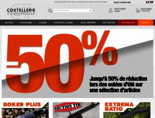 coutellerie-tourangelle.com screenshot
