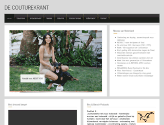 couturekrant.nl screenshot