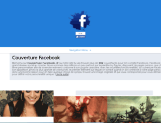 couverturefacebook.fr screenshot