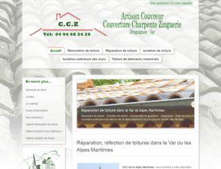 couvreur-toit-var.com screenshot