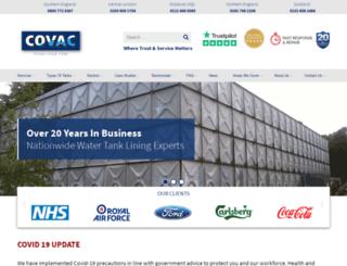 covac.co.uk screenshot
