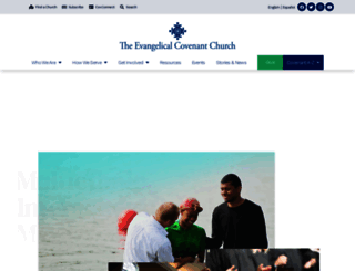 covchurch.org screenshot