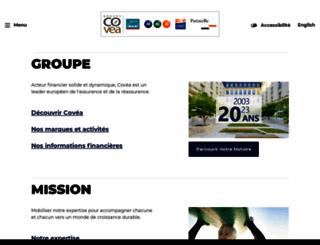 covea.eu screenshot