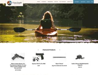 covecreekoutfitters.com screenshot