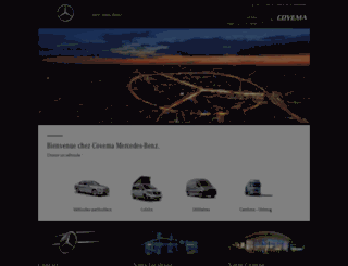 covema.mercedes.fr screenshot