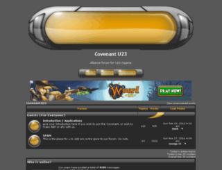 covenantknights.team-forum.net screenshot