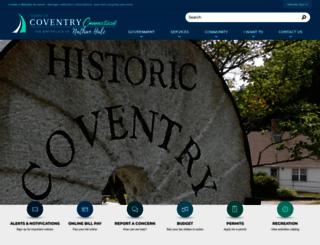 coventryct.org screenshot