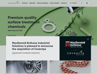 coventya.com screenshot