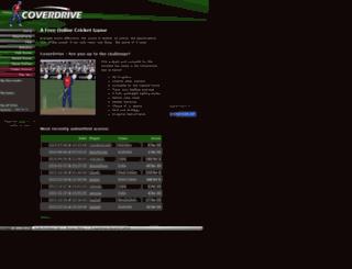 coverdrivecricket.com screenshot