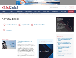 coveredbondnews.com screenshot