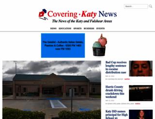 coveringkaty.com screenshot