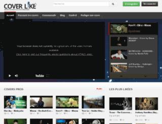 coverlike.fr screenshot